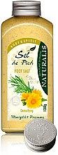 Profumi e cosmetici Sale per pediluvio  - Naturalis Sel de Pied Marigold And Rosemary Foot Salt