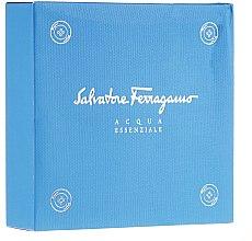 Profumi e cosmetici Salvatore Ferragamo Acqua Essenziale - Set (edt/30ml + sh/gel/50ml)