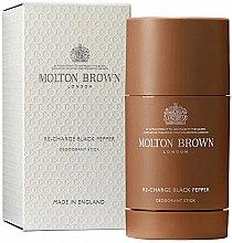 Profumi e cosmetici Molton Brown Re-Charge Black Pepper Deodorant - Deodorante uomo