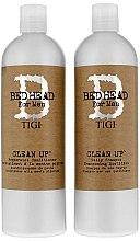 Profumi e cosmetici Set - Tigi Bed Head Clean Up (sh/750ml + cond/750ml)