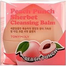Profumi e cosmetici Sorbetto detergente alla pesca - Tony Moly Peach Punch Sherbet Cleansing Balm