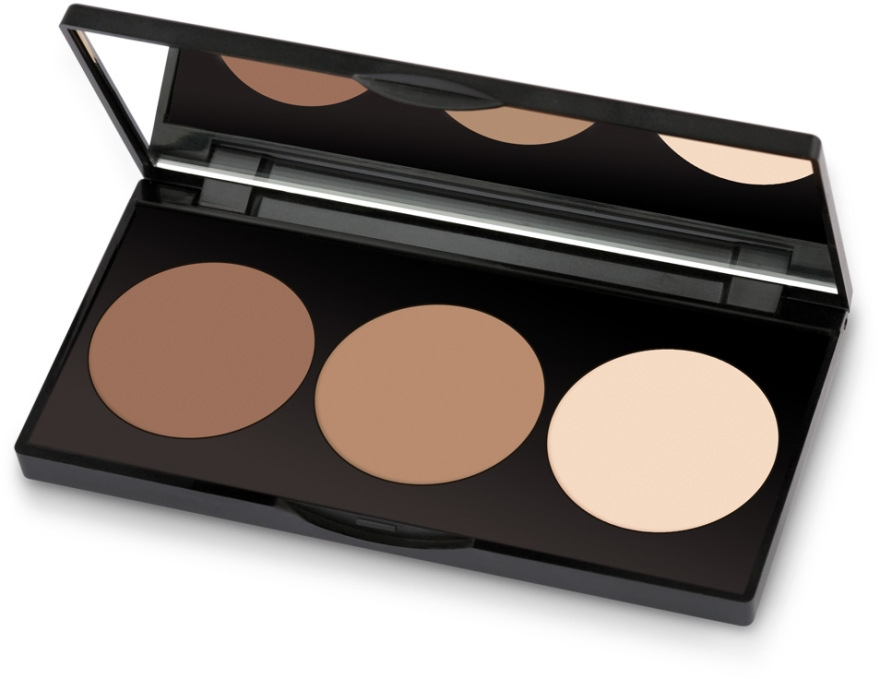 Palette per contouring viso - Golden Rose Contour Powder Kit
