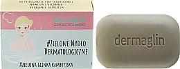 Profumi e cosmetici Sapone dermatologico per pelli sensibili - Dermaglin Soap