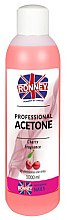 Solvente unghie, ciliegia - Ronney Professional Acetone Cherry — foto N2