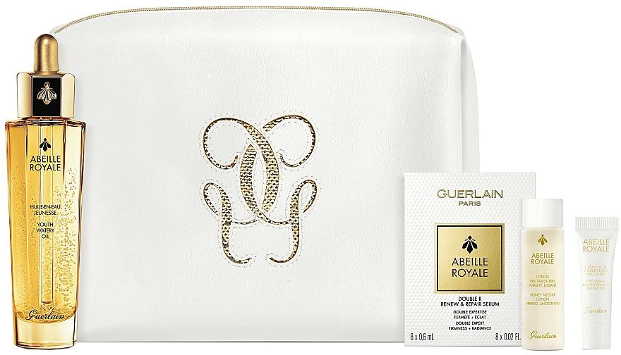 Set - Guerlain Abeille Royale Age-Defying Oil Set (f/oil/50ml + f/lot/15ml + eye/cr/3ml + f/ser/6mlx8)