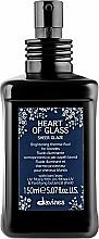 Profumi e cosmetici Fluido illuminante termoprotettivo per capelli biondi - Davines Heart Of Glass Sheer Glaze