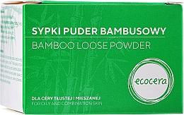 Profumi e cosmetici Cipria in polvere di bambù - Ecocera Bamboo Face Powder