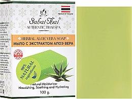 Profumi e cosmetici Sapone con estratto di aloe vera - Sabai Thai Herbal Aloe Vera Soap
