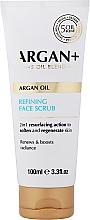 Profumi e cosmetici Scrub viso detergente - Argan+ Argan Oil Refining Face Scrub
