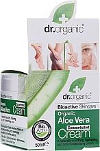 Profumi e cosmetici Crema concentrata all'Aloe Vera - Dr.Organic Bioactive Skincare Aloe Vera Concentrated Cream