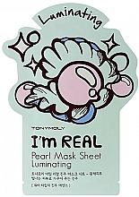 Profumi e cosmetici Maschera viso in tessuto all'estratto di perla - Tony Moly I Am Pearl Sheet Mask