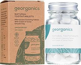 "Profumi e cosmetici Pillole per la pulizia dei denti ""Menta"" - Georganics Natural Toothtablets Spearmint"