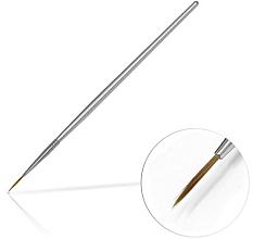 Profumi e cosmetici Pennello per gioielli 10 mm Silver - Silcare Brush 02