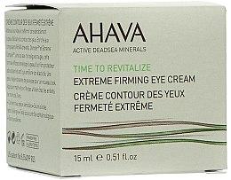 Profumi e cosmetici Crema contorno occhi rassodante - Ahava Time to Revitalize Extreme Firming Eye Cream