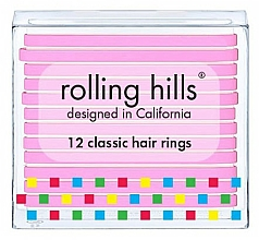 Profumi e cosmetici Set di elastici per capelli - Rolling Hills Classic Hair Rings Pink