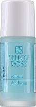 Profumi e cosmetici Deodorante roll-on per uomo - Yellow Rose Deodorant Blue Roll-On