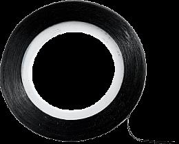 Profumi e cosmetici Nastro decorativo per nail design, nero - Peggy Sage Decorative Nail Stickers Noir