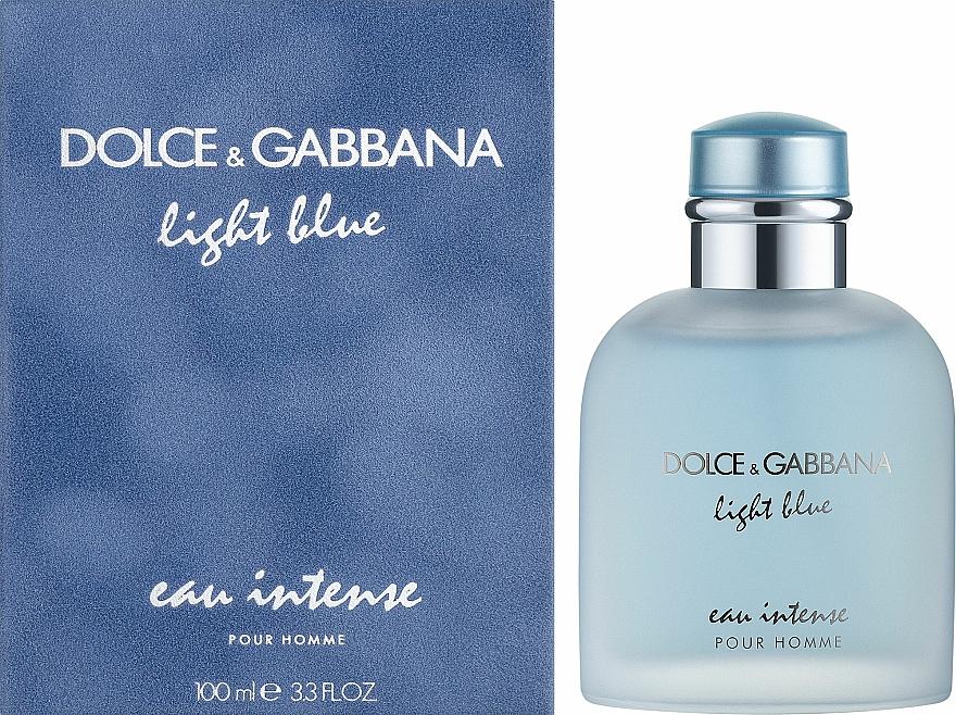 Dolce & Gabbana Light Blue Eau Intense Pour Homme - Eau de Parfum — foto N2