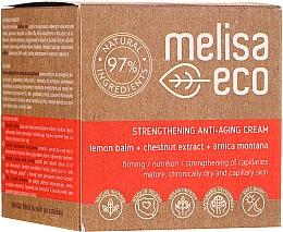 Profumi e cosmetici Crema viso rassodante antirughe - Melisa Eco
