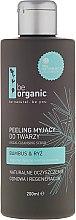 Profumi e cosmetici Scrub viso al bambù e riso - Be Organic Facial Cleansing Scrub