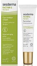 Profumi e cosmetici Crema contorno occhi anti-età - SesDerma Laboratories Factor G Renew Eye Contour