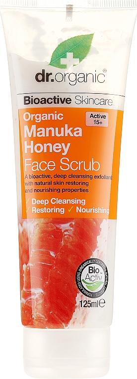 """Scrub viso """"Miele di Manuka"""" - Dr. Organic Manuka Honey Face Scrub — foto N2"""