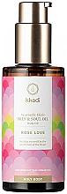 Profumi e cosmetici Olio elisir ayurvedico per corpo - Khadi Ayurvedic Elixir Skin & Soul Oil Rose Love