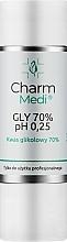 Profumi e cosmetici Acido glicolico 70% - Charmine Rose Charm Medi GLY 70% pH 0.25