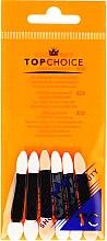 Profumi e cosmetici Pennelli bilaterali per ombre 35883, 6 pezzi - Top Choice Eyeshadow Applicators