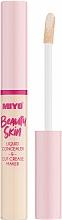 Profumi e cosmetici Correttore liquido - Miyo Beauty Skin Liquid Concealer & Cut Crease Maker (01 -Hello Cream)