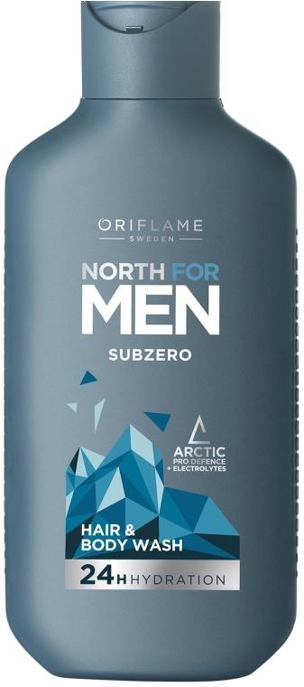 Shampoo capelli e corpo - Oriflame North For Men Subzero — foto N1