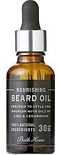 Profumi e cosmetici Olio da barba fresco agli agrumi - Bath House Citrus Fresh Beard Oil