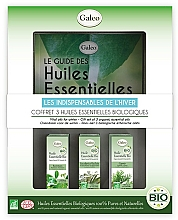 """Profumi e cosmetici Set di oli essenziali """"Inverno"""" - Galeo Vital Oils For Winter (ess/oil/3x10ml)"""