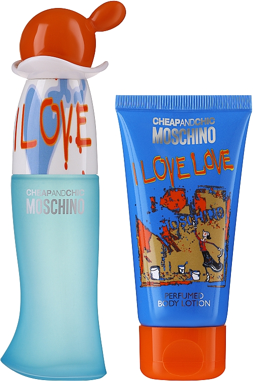 Moschino I Love Love - Set (edt/30ml + b/lot/50ml)
