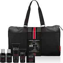 Profumi e cosmetici Set - Baylis & Harding Signature Men's Black Pepper & Ginseng Weekend Bag(shawer/gel/200ml+soap/150g+hair/body/wash/100ml+b/lot/100ml+a/sh/balm/50ml+acc)