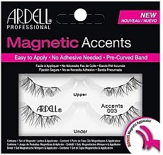 Profumi e cosmetici Ciglia finte - Ardell Magnetic Lashes Accent 003
