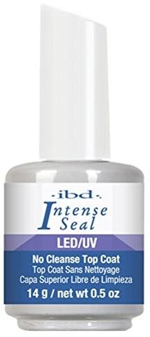 Top Coat per smalto gel - IBD LED/UV Intense Sea No Cleanse Top Coat