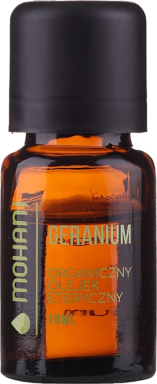 Olio essenziale di geranio - Mohani Geranium Organic Oil — foto N1
