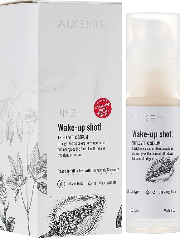 Siero con tripla vitamina C per il viso - Alkemie Wake-up shot Triple Vit-C Serum