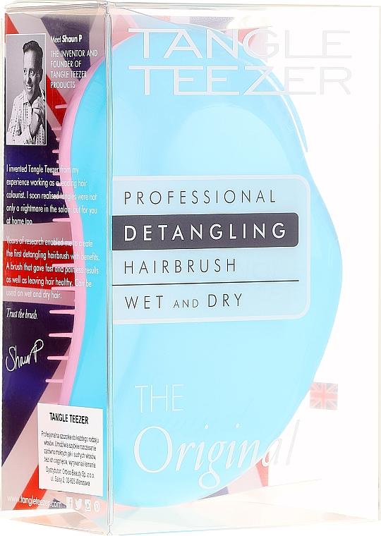 Spazzola per capelli - Tangle Teezer The Original Turquoise Dream