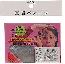 Profumi e cosmetici Stencil per sopracciglia, A5, A6, A7, A8 - Magical Eyebrow Style