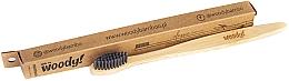 "Profumi e cosmetici Spazzolino da denti in bambù ""Classic"" morbido - WoodyBamboo Bamboo Toothbrush Classic"