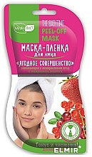 "Profumi e cosmetici Maschera viso ""Berry perfection"" - NaturaList"