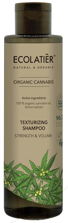 Shampoo volumizzante - Ecolatier Organic Cannabis Texturizing Shampoo — foto N1