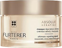 Profumi e cosmetici Maschera intensiva rigenerante per capelli danneggiati e indeboliti - Rene Furterer Absolue Keratine Ultimate Repairing Mask