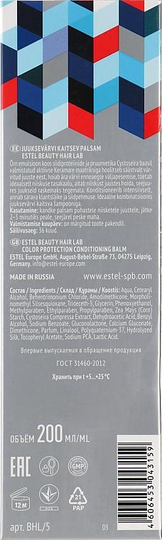 Balsamo per la protezione del colore dei capelli - Estel Beauty Hair Lab 22.1 Color Prophylactic — foto N3