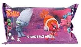 Profumi e cosmetici Salviette umidificate, 72 pz - Corsair Trolls Hand & Face Wipes