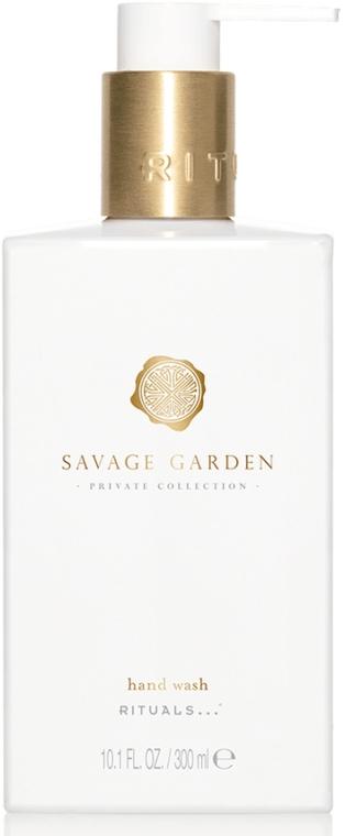 Sapone liquido - Rituals Private Collection Savage Garden Hand Wash — foto N1