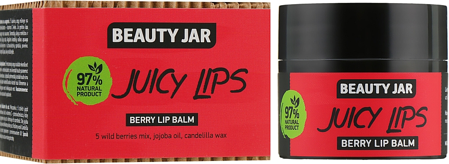 "Balsamo labbra ai frutti di bosco ""Juicy Lips"" - Beauty Jar Berry Lip Balm"