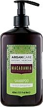 Profumi e cosmetici Shampoo per capelli secchi e danneggiati - Arganicare Macadamia Shampoo